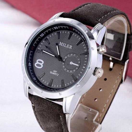 снимка на мъжки елегантен мъжки часовник Miler